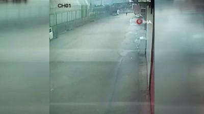 Güpegündüz otomobil hırsızlığı yapan şahıslar kamerada