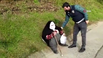 zabita -  İstanbul'da 'dilenci' operasyonu: 11 kişiye işlem yapıldı