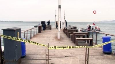 olta -  İzmir'de balıkçı oltasına 'ceset' takıldı