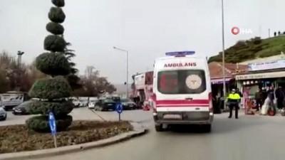 Kırşehir'de silahlı kavga: 1'i polis 2 yaralı