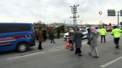 sehirlerarasi otobus -  Tarım işçilerini taşıyan araç otobüsle çarpıştı: 6 yaralı