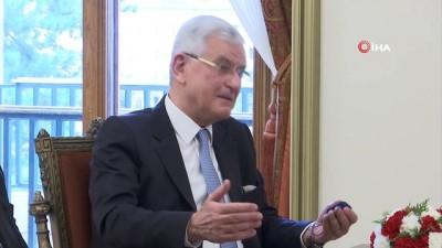 kabiliyet -  TBMM Başkanı Şentop BM 75. Genel Kurul Başkanı Volkan Bozkır'ı kabul etti