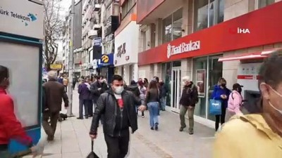 Zonguldak'ta tedirgin eden kalabalık