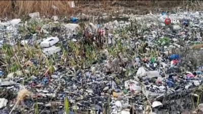 felaket -  Büyük Menderes Nehri'ndeki çöp birikintileri görenlerin içini sızlattı