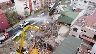 basin mensuplari -  Büyükçekmece'de kentsel dönüşüm kapsamında 3 bina yıkılıyor