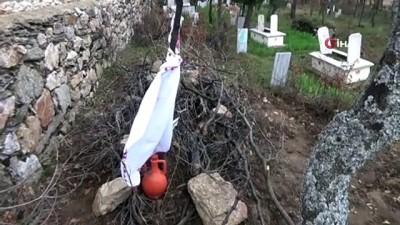 Dayak iddialarının ardından mezarı açılan yaşlı kadının torunu konuştu