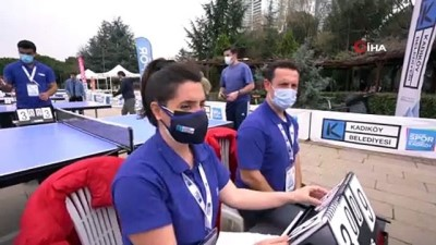 dera - 'Dünya Herkes İçin Masa Tenisi Günü' Kadıköy'de kutlandı