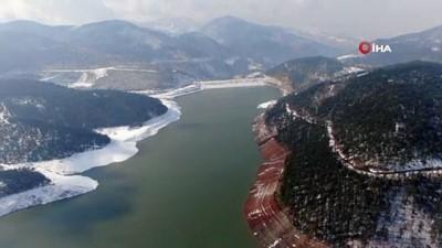 doluluk orani -  Eriyen kar suları sevindirdi, 2 günde baraj seviyesi yüzde 15 arttı