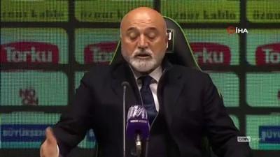 basin mensuplari - Hikmet Karaman: 'Basit bir hatayla beraberlik golünü yedik'