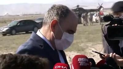 Konya Valisi Özkan'dan düşen uçağa ilişkin açıklama