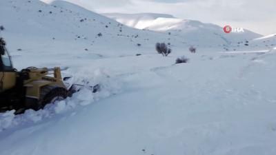 Yüksek kesimlerde karla mücadele çalışmaları devam ediyor