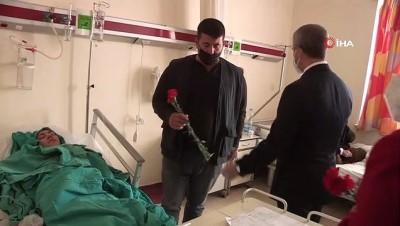 belediye baskani -  Başkan Tahmazoğlu, sağlık çalışanlarını unutmadı