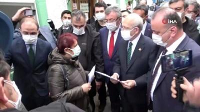 CHP Genel Başkanı Kemal Kılıçdaroğlu Sinop'ta