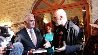 - Kültür ve Turizm Bakanı Ersoy, Arnavutluk'ta