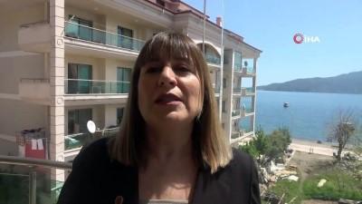 Marmaris'te imara açılan yol için 7 meclis üyesi dava açtı