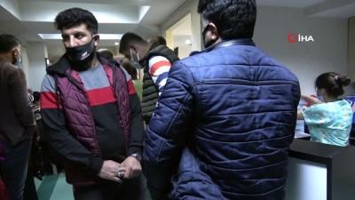 Mersin'den Diyarbakır'a geldi, 8 yıllık çocuk özlemi son buldu