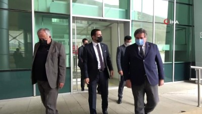 iran -  Oda başkanlarından Esendere Sınır Kapısı'na ziyaret