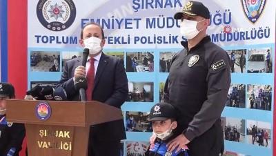 Şırnak'ta 176 şehit polis için 176 fidan toprakla buluştu