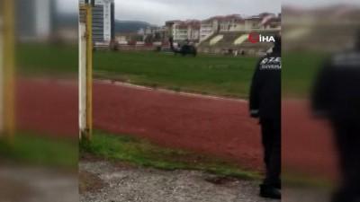 Süleyman Soylu'yu taşıyan helikopter Bilecik'e acil iniş yaptı