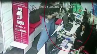"""adli kontrol -  """"Tırnakçılık"""" yöntemiyle dolandırıcılık yapan İranlı kadınlar önce kameraya sonra polise yakalandı"""