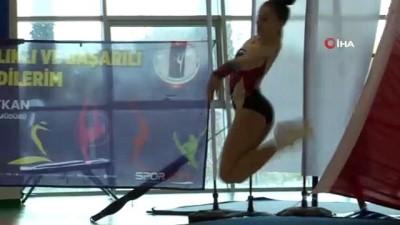 Aerobik Cimnastik Türkiye Şampiyonası Manisa'da başladı