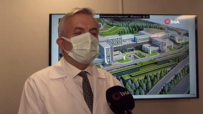 saglik hizmeti -  Dev şehir hastanesi yıl sonunda hizmete girecek