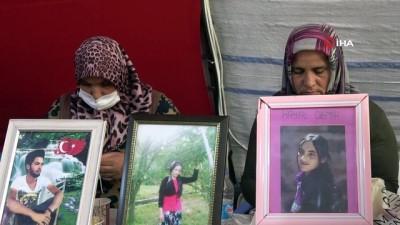HDP önündeki aileler evlat nöbeti eylemine kararlılıkla devam ediyor