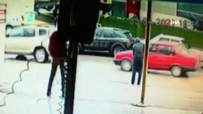 direksiyon -  Kadın sürücü çalınan aracının peşinden metrelerce böyle koştu