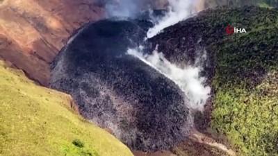 guvenli bolge -  - Karayipler'de La Soufriere Yanardağı hareketlendi, tahliyeler başladı