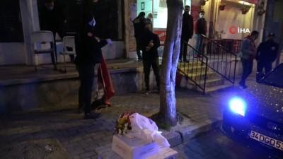 'Kavga var' diye çağrılan polislere pasta sürprizi