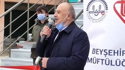 Konya'da Yavuz Sultan Selim Camii ibadete açıldı