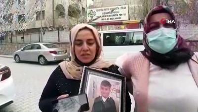 Terör örgütü PKK, 9 yaşında dağa kaçırdığı Hamza'nın yeni fotoğrafını ailesine gönderdi