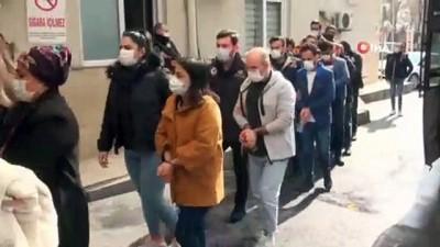 adli kontrol -  Teröristlerin çantalarında adları çıkan 6 PKK'lı tutuklandı