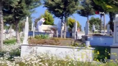 Yanlış yere defnedilen kişi çıkarılarak aile mezarlığına defnedildi