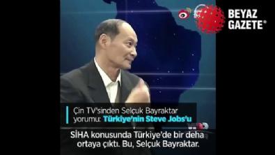 Çin TV'sinde Selçuk Bayraktar'a övgü dolu sözler!