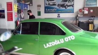 Hurdadan alarak yenilediği Anadol otomobili Devlet Bahçeli'ye hediye etmek istiyor