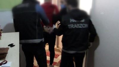 bonzai - TRABZON - Uyuşturucu operasyonunda 3 kişi gözaltına alındı