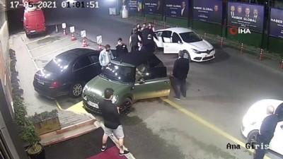 Ünlü futbol yorumcusu Uğur Karakullukçu'ya saldırı girişimi kamerada