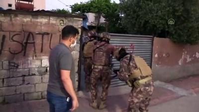 ozel harekat polisleri - ADANA - Terör örgütü DEAŞ'a yönelik operasyon düzenlendi