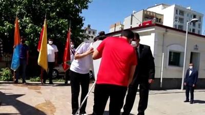 hukumet konagi - ADIYAMAN - 19 Mayıs Atatürk'ü Anma, Gençlik ve Spor Bayramı kutlanıyor