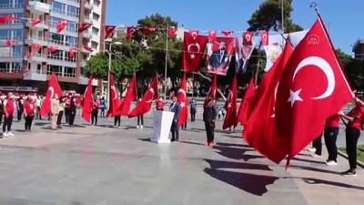 bayram coskusu - ANTALYA - 19 Mayıs Atatürk'ü Anma, Gençlik ve Spor Bayramı kutlanıyor