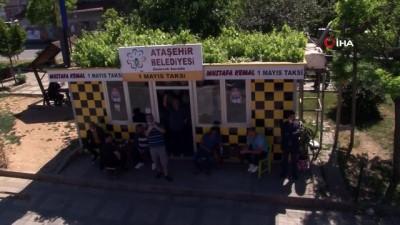 bayram coskusu -  - Ataşehir'de bando ekibiyle 19 Mayıs coşkusu