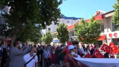 gaziler -  Çankırı'da '19 Mayıs' yürüyüşü