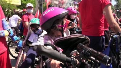 gaziler - KOCAELİ -  Bisikletseverler '19 Mayıs' için pedal çevirdi