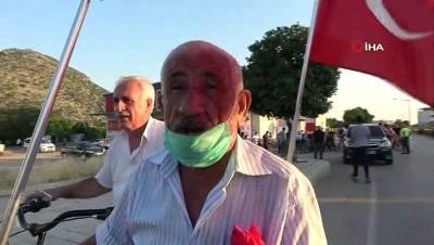 halk egitim merkezi - Kozan pedallar 19 Mayıs Gençlik Bayramı için çevrildi