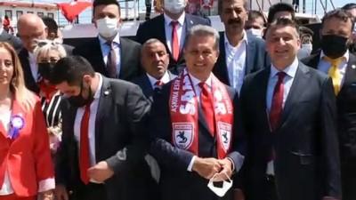 yurttas - SAMSUN - TDP Genel Başkanı Sarıgül, 19 Mayıs'ta gençlere vaatlerde bulundu