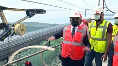 grup baskanvekili -  1915 Çanakkale Köprüsü'nün ana halat kablo montajı tamamlandı