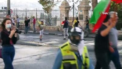 - Batı Şeria'da İsrail güçleri ile Filistinliler arasında çatışma