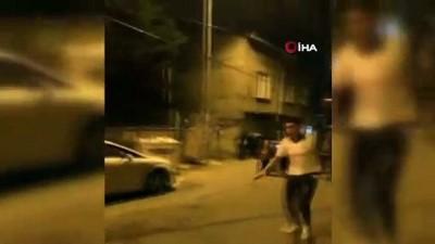 kan davasi -  Polis kavgaya karışanları havaya ateş açarak ayırdı...O anlar kamerada