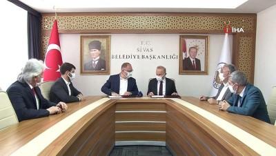 isbirligi protokolu -  Sivas Belediyesi ve Türk Ocakları Sivas Şubesi arasında işbirliği protokolü